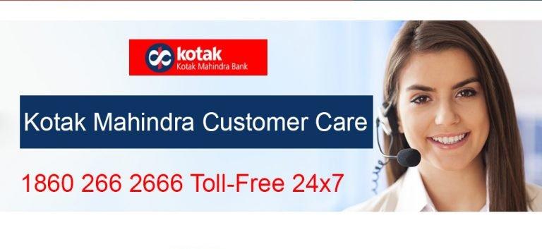 kotak Mahindra customer care Number