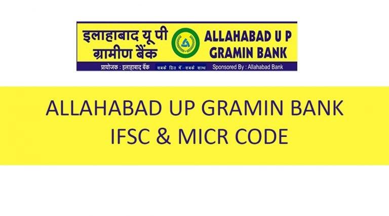 Gramin Bank IFSC Code UP