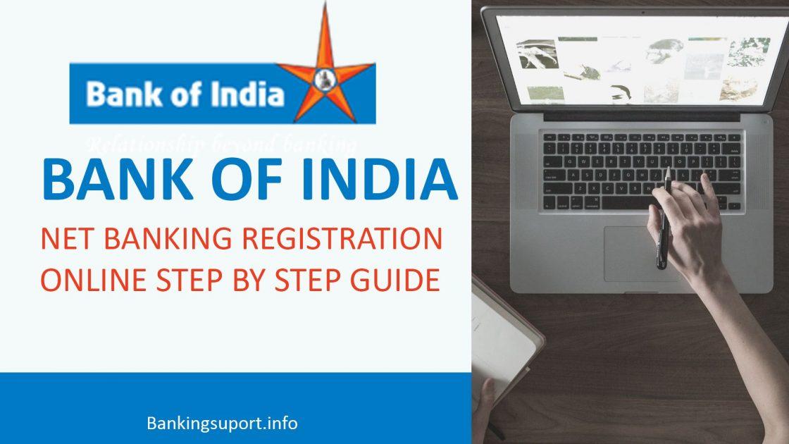 boi net banking online registration
