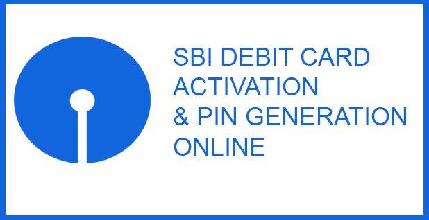 sbi debit card activation