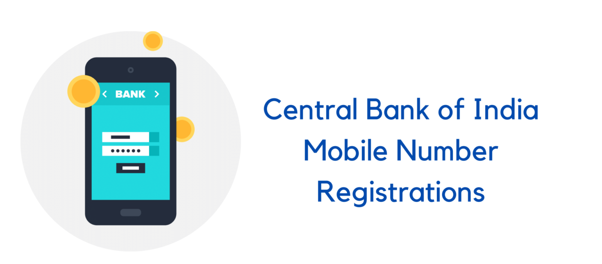 how to register mobile number in central bank of India