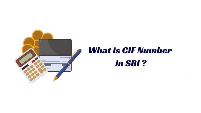 What is CIF Number in SBI