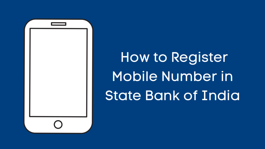 How to change mobile number in SBI